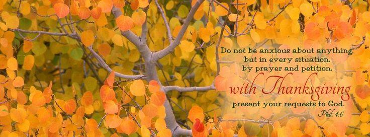 Thanksgiving Scripture