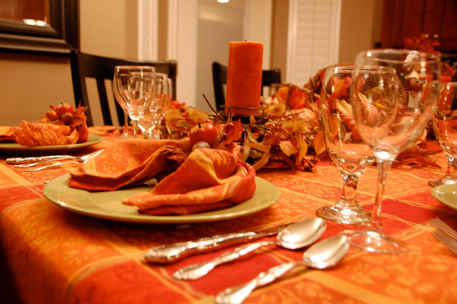 An empty chair deborah chapman newell How to set a thanksgiving dinner table