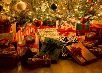 Image result for Gifts under tree