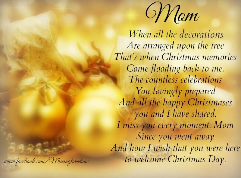 Missing Mom At Christmas.Missing Mom Christmas Deborah Chapman Newell