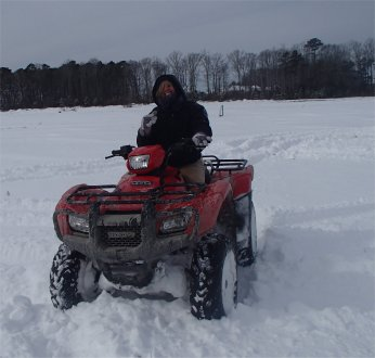 Snow 4 wheeler