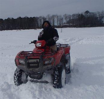 Snow 4 wheeler