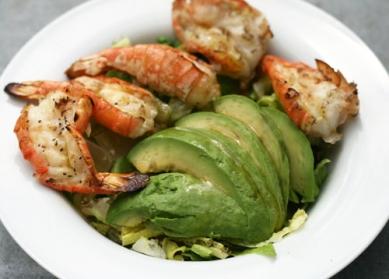 Grilled-Shrimp-and-Avocado-Salad